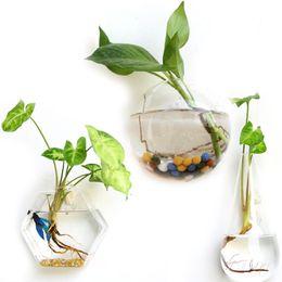$enCountryForm.capitalKeyWord Australia - Creative Glass Flower Planter Vase Terrarium Container Garden Wall Decor