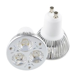 12v spotlight bulbs online shopping - CREE W x3W LED Spotlights Dimmable GU10 LED Bulbs MR16 E27 GU5 Spot light led downlights lighting