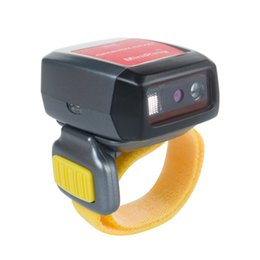 Discount barcode reader android - GS03 Mini Bluetooth Barcode Scanner for Android&iOS Phones Tablet PC, Small Finger Codes Reader , Wireless Ring Scanner