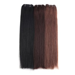 """$enCountryForm.capitalKeyWord UK - Straight Remy Human Hair Extension 14""""-26"""" 100g pc Many Colors Available Double Drawn Hair Weft"""