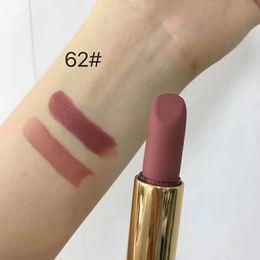 $enCountryForm.capitalKeyWord Australia - 2019 Makeup Lipstick Rouge velvet Metal tube lipstick 3.5g 9color top quality Matte Luminou Lip colour Long Lasting lipstick.