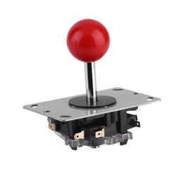 Chinese  Arcade joystick DIY Joystick Red Ball 4 8 Way Fighting Stick Parts for Game Arcade manufacturers