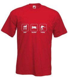 Size pool online shopping - Eat Sleep Pool T Shirt Snooker Tshirt Ape to Man Billiards T Shirt Sizes S XXL