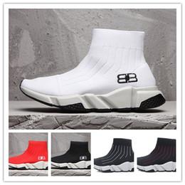 Girls french online shopping - original box French designer designer children sports socks Tess net fashion shoes walkers boys and girls sports shoes elastic knitte