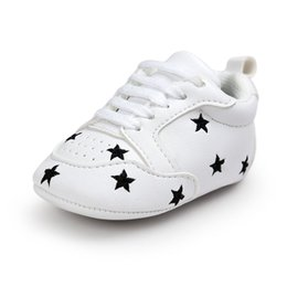 newborn shoes brands 2019 - WONBO Brand Baby First Walkers PU Leather Prewalkers Baby Soft Bottom Fashion Moccasin Newborn Babies Shoes Boots New Ar