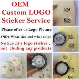 Großhandel OEM Custom Logo-Sticker-Service für Kunden mit eigenem Markenpaket wie 3D-Nerz Eyelashe magnetische Wimpern und Einzelhandels-Box für Haarentferner