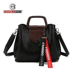 $enCountryForm.capitalKeyWord NZ - FEIDIKABOLO Famous Brands Tassel Ladies Autumn Tote Bag PU Luxury Handbags Women Bags Designer Casual Women Bag New Style 2018