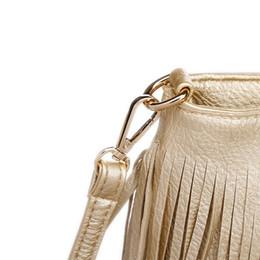 2018 NEW Women Fashion Tassel Fringe Handbags Trend PU Leather Shoulder Bag  Ladies Black Leather Crossbody Bags Bolsa Feminina 287d476a44