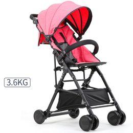 $enCountryForm.capitalKeyWord Canada - 3.6KG Light Weight Portable Baby Stroller With Storage Bag Handwash Baby Carriage Pram New Quality Wheels Kids Stroller