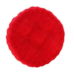 Chinese  40cm Tatami Cushion Seat Mat Round Cotton Pillow Floor Yoga Tea Chair Pillow For Round Thick Sponge Tatami Seat Cushion manufacturers