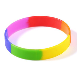 China Unisex Sports Coloful Silicone Bracelet Band Wrist supplier sports wrist cuff suppliers