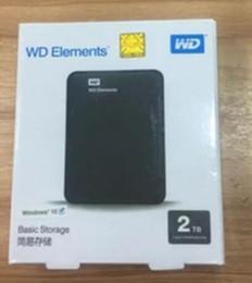 2018 Горячие 2 ТБ внешний жесткий диск оригинальный WD 2.5