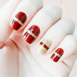 Discount Red Tip Nail Art Red French Tip Nail Art 2018 On Sale At