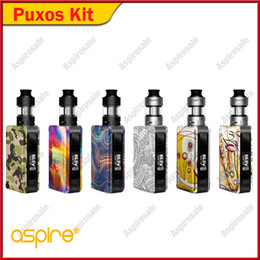 $enCountryForm.capitalKeyWord NZ - Authentic Aspire Puxos Starter Kit Electronic Cigarette with cleito pro sub ohm tank 0.5ohm support wattage voltage bypass CPS TC TCR