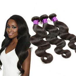 Discount peruvian 28 inch hair - Grade 8A Brazilian Body Wave 3 Bundles Deals Unprocessed Brazilian Virgin Human Hair Extension Peruvian Virgin Remy Hair