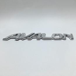 $enCountryForm.capitalKeyWord Australia - for Toyota AVALON Car Rear Emblems Badge Chrome Logo Stickers