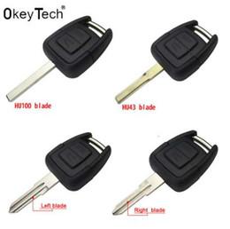 $enCountryForm.capitalKeyWord Australia - 2 Buttons Smart Remote car Key Shell for OPEL VAUXHALL Vectra Zafira Omega Astra h j insignia g Mk4 B c mokka Replacement Case