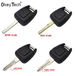 Wholesale 2 Buttons Smart Remote car Key Shell for OPEL VAUXHALL Vectra Zafira Omega Astra h j insignia g Mk4 B c mokka Replacement Case