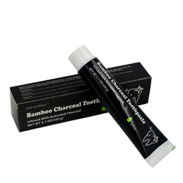 Wholesale 2018 g Oral Hygiene Toothpaste Whitening Teeth Women Tooth Paste Black Bamboo Charcoal Toothpaste High Quality