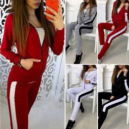 19d816c0374a Discount black white striped hot pants - Hot Sale Women s Sports Set Two-piece  Suit