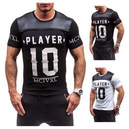 $enCountryForm.capitalKeyWord Canada - 2018 Newest Summer men's digital printing short sleeved T-shirt cotton casual tops tees Fitness Mens T-shirt brand clothing