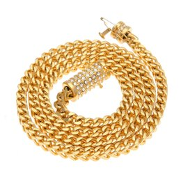 China 6mm Stainless Steel Wheat Chain Gold Silver Plated 73cm Long Franco Chain Necklace Men's Jewelry Luxury Rhinestone Box Clasp cheap long necklaces luxury suppliers