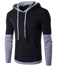 8d0eda4a7fbd Hoodie Men s Casual Long Short-Sleeve Slim-Fit Hoodie Shirt Jacket Coat  Fleece Sports Clothing Sweatshirts Designer Tracksuit Mens Zipper