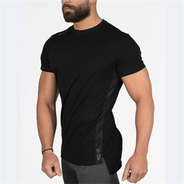 Quick Dry Shirts For Men Australia - New Arrival Men ECHT T Shirt Casual Quick Dry Slim Fit Men Bodybuilding And Fitness Men's Singlets Shirts Gyms Sport Clothes For Man