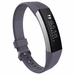 replacement straps UK - Wristband Wrist Strap Sport Bracelet Belt Replacement Fitness Smartband Bracelet For Fitbit Alta HR Band Strap Watch