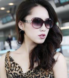 b4c4de0d21d01 Women Sunglasses Famous Brand Designer Uv400 Eyewear Driving Steampunk  Vintage Big Frame Coating Eyewear Gafas De Sol Femenino Oval Frame