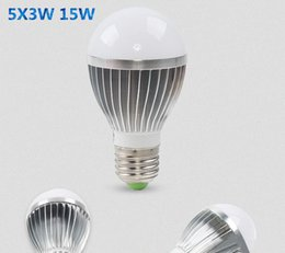 Globe Bulb B22 Australia - Golden Silver led globe bulb E27 GU10 B22 Warm White White led bulbs 3W 5w 7w 9w 12w 15w 18w led lights bulbs AC85-265V