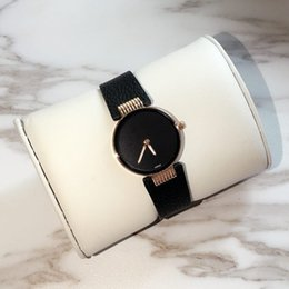 nice watch brands 2019 - 2018 Fashion Luxury Thin Watches Women Nice Leather leisure Watch Round female table Top Brand Quartz Wristwatches for w