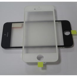 Iphone Film For Digitizer Australia - LCD Screen Front Panel Glass + Bezel Frame + OCA Film For iPhone 5 5S 5C Cracked Digitizer Screen Fix Parts