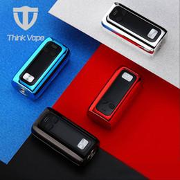 advance box 2019 - Think Vape Thor TC Box MOD 200W Max Output with Advanced ST200 Chip ABS Material E-cig MOD No 18650 Battery discount adv