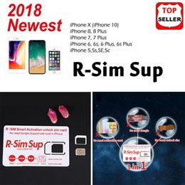 Wholesale 2018 fits iOS For iPhone XS Max X Plus s S R SIM G rsim Unlocked Card