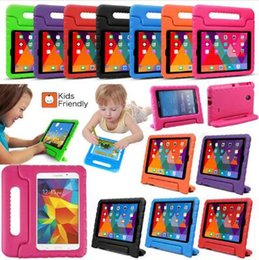 ipad stands kids Australia - New Kids Drop Resistance Shockproof EVA Case Protection Handle Cover With Stand For ipad 5 6 Air mini 2 3 4 pro 9.7 DHL