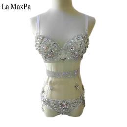 Discount pole dance show - La MaxPa 2017 sexy female singer costumes women stage show bar nightclub Pole dancing performances clothes dance outfit