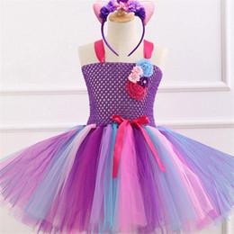 $enCountryForm.capitalKeyWord Australia - New European and American cartoon mesh stage show tutu skirt princess dress