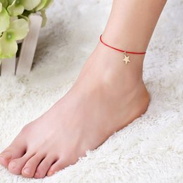 foot starfish fabal barefoot vintage ankle jewelry boho anklet buddha amazon dp sale summer bracelet com for string women bracelets beach