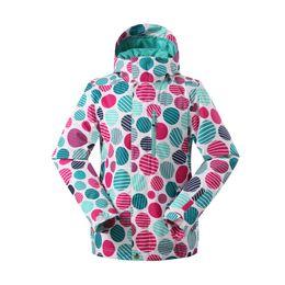 L Jackets NZ - GSOU SNOW Winter Women's Ski Suit Outfoor Waterproof Warm Wear-resistant Windproof Single Board Ski jacket For Women Size XS-L