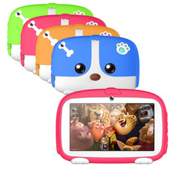 7 Wifi Tablet Australia - 7 inch Allwinner A33 Quad Core 512MB 8GB Android 6.0 Dual Camera 1024*600 wifi bluetooth Kids Tablet PC