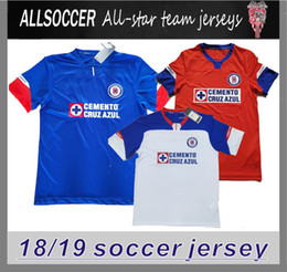 ce3c541456a 2019 Cruz Azuls Mexican League home and away maillot de foot camisa jersey  18 19 top thai quality football shirt