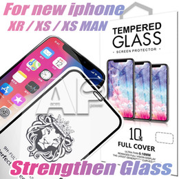 Glasses 3d xiaomi online shopping - Full Cover Tempered Glass For Iphone XR XS MAX X Screen Protector Samsung Huawei Xiaomi With Retail Package