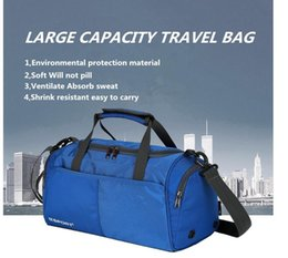 e24d97a8c0d0 Wholesale large capacity double shoulder bag men s and women s travel  waterproof sports package outdoor leisure backpack