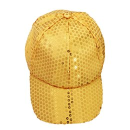 $enCountryForm.capitalKeyWord UK - Autumn Summr 2016 Sequin Bling baseball cap Hats Kids Girls 9 Colors Snapback Hats Cap For Children Boys Girls Casquette Gorra