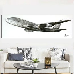 $enCountryForm.capitalKeyWord Australia - 1 Piece Retro HD Print Abstract Retro World War II fighter Airplane Painting Aircraft Poster Canvas Art Wall Picture No Framed