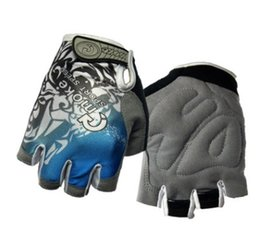 Half Finger Boxing Glove UK - Europe and America fashion concise Bicycle Half finger gloves