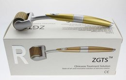$enCountryForm.capitalKeyWord Australia - Home use 5pcs ZGTS Dermaroller Microneedle Derma Roller micro needle roller Skin Care Device Scars Acne Removal Wrinkle Remover