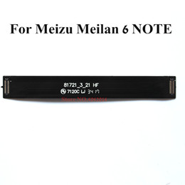 mainboard flex cable NZ - New Original Mainboard connection Flex cable For Meizu Meilan 6 Note M6 Note Data connector line Replacement spare parts