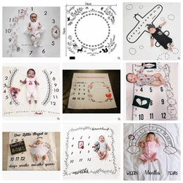babies months 2019 - Baby Blankets INS Infant Swaddle Newborn Wrap Toddler Swaddling Nursery Bedding Easter Photo Prop Photography Backdrops